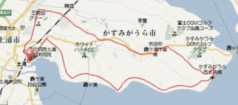 Garmin Connect -Player for 霞ヶ浦マラソン2009-1.jpg