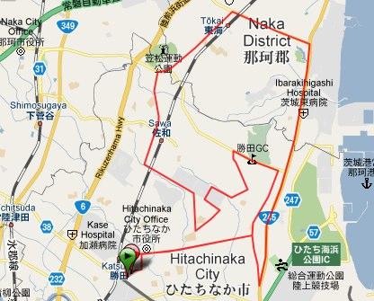 Garmin Connect - Activity Details for 58th Katsuta Marathon-1