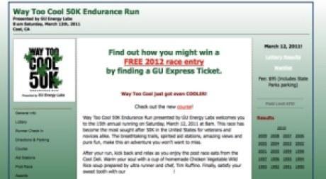Way Too Cool 50K Endurance Run
