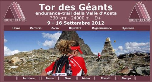 Tor des Géants Endurance trail della Valle d Aosta