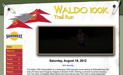 Waldo 100K Ultramarathon